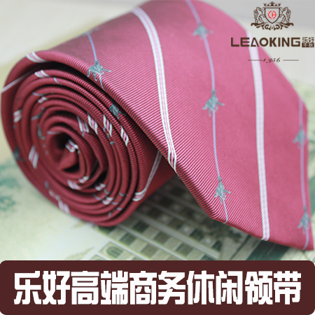 经典红色商务领带